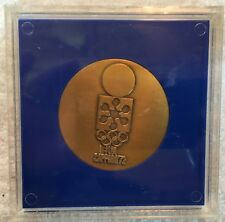 1972 Sapporo Olympic Athlete's Participation Medal in Presentation Box