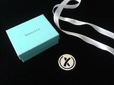 Tiffany & Co. Sterling Silver 925 Bookmark Paloma Picasso X Kiss w Box & Ribbon