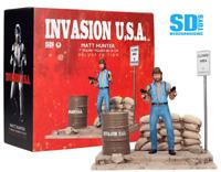SD TOYS - INVASION U.S.A. - MATT HUNTER - CHUCK NORRIS - DELUXE FIGUR NEU/OVP