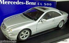 Autoart 1/18 70121 Mercedes Benz CL 500 Modelo Diecast Lorinser Versión De Plata