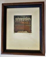 SUSAN DYSINGER Original PENCIL SIGNED # Etching Aquatint FRAMED Limited Edition