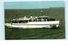 *Dolphin Deep Sea Fishing Party Fishing Boat Gulf of Mexico Vintage Postcard C35