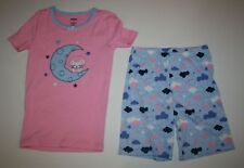 NEW Gymboree Gymmies Short PJs Astronaut Mouse On Crescent Moon Size 8 year NWT