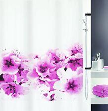 Amanda Pink Rosa Textil Duschvorhang 180 x 200 cm. Schweizer Markenprodukt