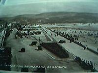 postcard used 1935 barmouth marine parade promenade