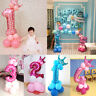 Kids Number Foil Balloons 32 inch Digit Helium Ballons Birthday Party Decor NEW