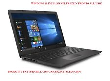 NOTEBOOK NUOVO PC PORTATILE HP 7DB74EA 255G7 AMD 4GB RAM 250GBSSD WINDOWS 10 PRO