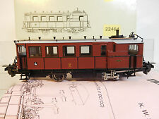 MES-52291Trix Intern. 22464 H0 DW Dampftriebwagen K.W.St.E. sehr guter Zustand,