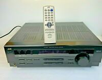 JVC RX-6010V Home Theater Stereo Receiver 5.1 Channel Bundle w/Remote