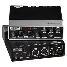 STEINBERG UR-22MKII USB 2x2 Computer Recording Interface UR22 MK2 NEW