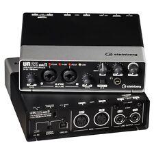 STEINBERG UR-22MKII USB 2x2 Computer Recording Interface UR22 MK2 NEW