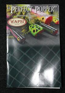 Fly Tying -- Bass Popper Kits