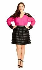 Above Knee A-Line Plus Size Skirts for Women