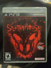 Splatterhouse PlayStation 3 PS3 w/ Manual