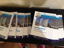 CFA Level 2 Kaplan Books (Notes), Practice Exams and more