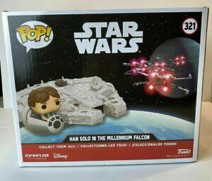 Funko Pop! Deluxe: Star Wars - MILLENNIUM FALCON with Han Solo Exclusive 39916