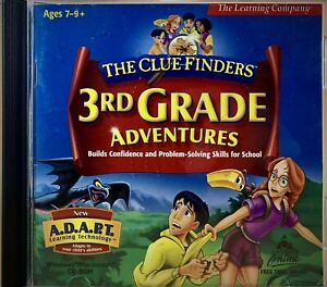 3rd grade (THE CLUE FINDERS, learning game, MYSTERY of MATHRA)(Mac/Win, CD-ROM)