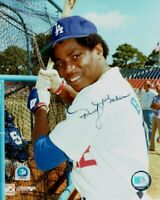 Dusty Baker Hand Signed 8x10 Photo Dodgers 30HR Member MLB Holo