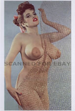 Model nude girl art print leggy busty female picture photo ROSINA-topless