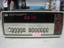 HP AGILENT KEYSIGHT 3465B DIGITAL MULTIMETER