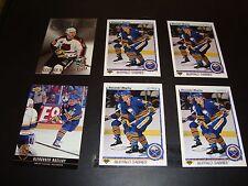 Alexander Mogilny Hockey Card & Insert Lot Buffalo Sabres Includes Rookie Card