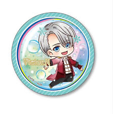 Yuri on Ice Victor Nikiforov Under Water 3'' Metal Button NEW