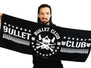 Official NJPW New Japan Pro Wrestling Bullet Club BC Sports Towel