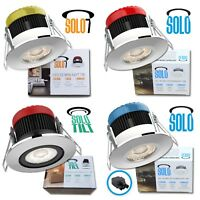 All in 1 LED Downlight 7w 10w SOLO IP65 Dimmable ✔3 Colours ✔3 Bezels Fire Rated
