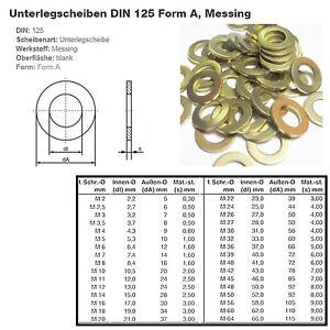 Unterlegscheiben / U-Scheibe / Scheibe / DIN 125