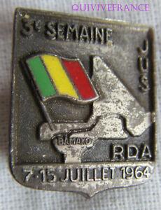 IP875 - INSIGNE Jeunesses Union Soudanaise Rassembl. Démocratique Africaine 1964