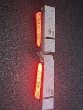 Jaguar S Type Rear Bumper Reflectors Red