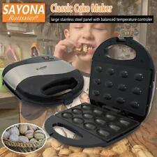 SAYONA 12 Household Electric Walnut DIY Cake Maker Sandwich Breakfast Machine
