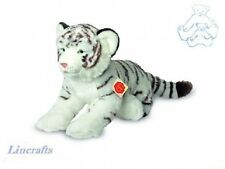 White Tiger Plush Soft Toy Wildcat by Teddy Hermann Sold by Lincrafts 90466 SALE