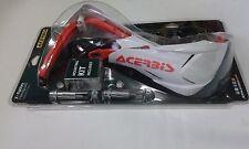 COPPIA PARAMANI HANDGUARD ACERBIS BIANCHI ARANCIO X FACTORY ATV QUAD