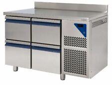 Kühltisch Arbeitstisch Gastro Edelstahl 2 Schubladen NEU Gastlando