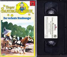 VHS Unser Sandmännchen 2 - Der verhexte Staubsauger - EUROPA mini - FSK 0