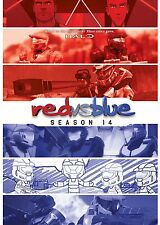 RED VS BLUE - SEASON 14  - DVD - UK Compatible -  sealed