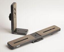 Lot of 2 Slik Heavy Duty Camera Tripod Plates - Two Camera Plate and Right Angle