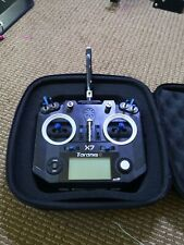 FrSky Taranis Q X7 ACCESS Transmitter w  new frsky USB receiver and new case