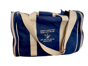 VTG Canvas Travel Duffle Shoulder Bag Gym Weekend Handbag Luggage Heavy Cotton