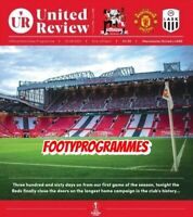 Manchester United V LASK Europa League Round Of 16 Match Programme Free Uk Post.