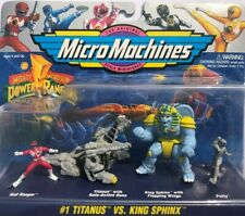 Micro Machines Power Rangers #1 Titanus vs. King Sphinx - MINT IN SEALED PACK