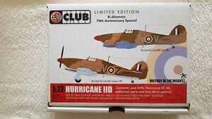 Airfix 1/72 A73006 WWII Airfix  Club Hurricane IID Limited Edition