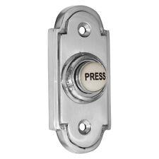 Bell Press / Push - Stepped + CHROME | Period Design