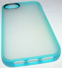 Belkin Grip Candy Sheer case Apple iPhone 5 5s, Translucent back, Cyan Bumper
