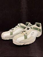 Oakley Sport Suede Leather Green Loafer - Mens Size 10