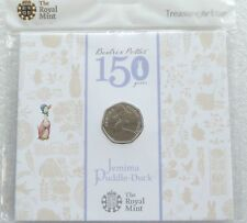 2016 Royal Mint Beatrix Potter Jemima Puddle-Duck 50p Fifty Pence Coin Pack