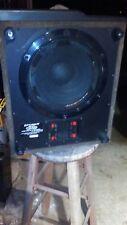 "Optimus SWS-502 10"" Subwoofer, 2 SWS 502 Speaker Home Theater Speaker Sub System"
