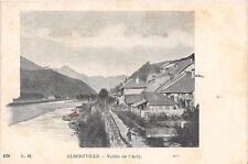 CPA 73 ALBERTVILLE VALLEE DE L'ARLY  (dos non divisé)