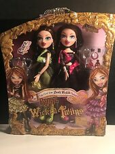 Bratz Wicked Twins Ciara And Diona Super Rare Set New IN Shadow Box MGA